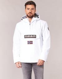 textil Hombre parkas Napapijri RAINFOREST Blanco
