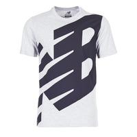textil Hombre camisetas manga corta New Balance NB ESSENTIEL T Gris