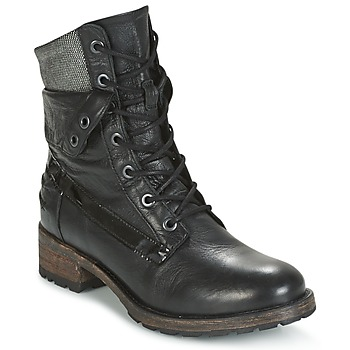 Zapatos Mujer Botas de caña baja Pataugas DEDAY Negro