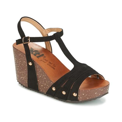 Zapatos Mujer Sandalias Xti  Negro