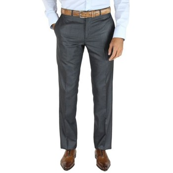 textil Hombre pantalones chinos Kebello FAF gris