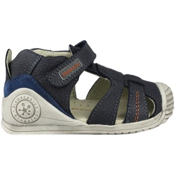 Zapatos Niños Sandalias Biomecanics SANDALIA CERRADA PIEL AZUL