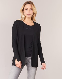 textil Mujer Chaquetas de punto Esprit IRDU Negro