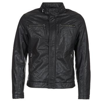 textil Hombre Chaquetas de cuero / Polipiel Esprit VARDA Negro