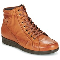 Zapatos Mujer Zapatillas altas Pitillos 2631 Cognac