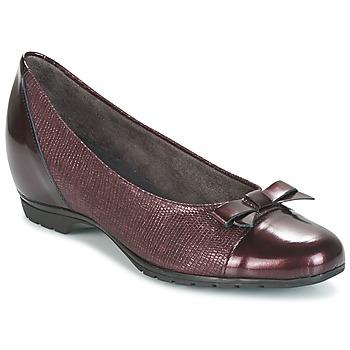 Zapatos Mujer Bailarinas-manoletinas Pitillos 3614 Burdeo