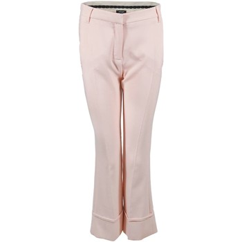 textil Mujer pantalones chinos Denny Rose 73DR12007 Trousers Mujeres Pink Pink