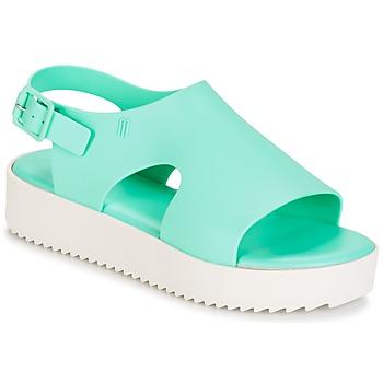 Zapatos Mujer Sandalias Melissa HOTNESS Verde / Blanco