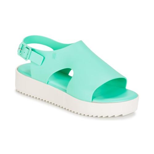 Zapatos promocionales Melissa HOTNESS Verde / Blanco  Zapatos casuales salvajes