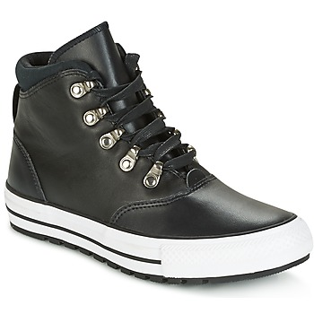 Converse CHUCK TAYLOR ALL STAR EMBER BOOT SMOOTH LEATHER HI BLACK/BLACK/W Negro / Blanco