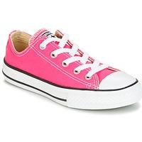 Zapatos Niña Zapatillas bajas Converse CHUCK TAYLOR ALL STAR SEASONAL OX PINK POW Rosa