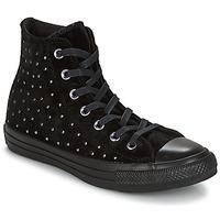 Zapatos Mujer Zapatillas altas Converse CHUCK TAYLOR ALL STAR HI Musta