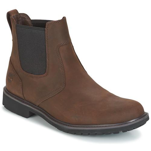 Zapatos Hombre Botas de caña baja Timberland STORMBUCKS CHELSEA Marrón