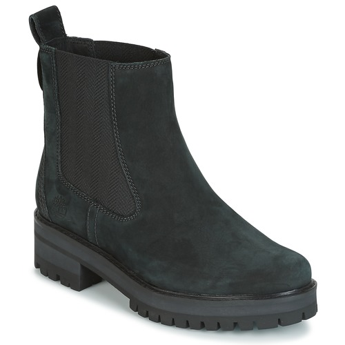 Zapatos Mujer Botas de caña baja Timberland COURMAYER VALLEY CHELSEA Negro