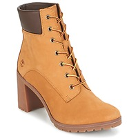 Zapatos Mujer Botines Timberland ALLINGTON 6IN LACE UP Marrón