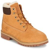 Zapatos Niños Botas de caña baja Timberland 6 IN PRMWPSHEARLING LINED Marrón