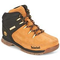 Zapatos Niños Botas de caña baja Timberland EURO SPRINT Marrón
