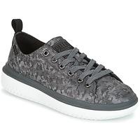 Zapatos Mujer Zapatillas bajas Palladium CRUSHION LACE CAMO Negro / Gris
