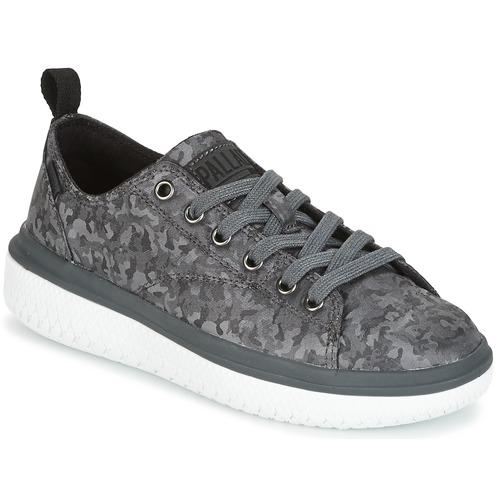 Zapatos promocionales Palladium CRUSHION LACE CAMO Negro / Gris  Gran descuento