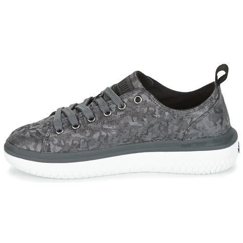 Palladium Bajas Mujer Camo Crushion NegroGris Lace Zapatillas Zapatos A4Rq35Lcj