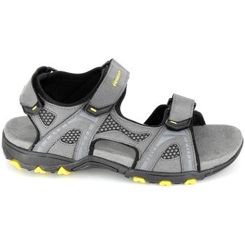 Zapatos Hombre Sandalias Elementerre Calcha Gris Jaune Gris