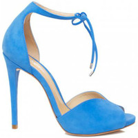 Zapatos Mujer Sandalias Schutz Sandálias Heart Shape Blue Azul