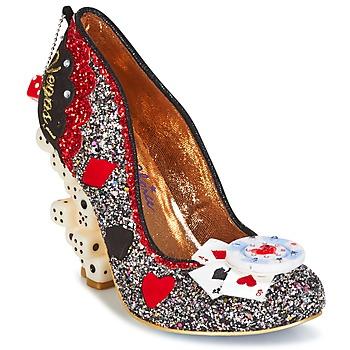 Zapatos Mujer Zapatos de tacón Irregular Choice LAS VEGAS Plateado / Negro