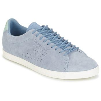Zapatos Mujer Zapatillas bajas Le Coq Sportif CHARLINE NUBUCK Azul