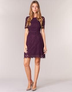 textil Mujer vestidos cortos Morgan ROUJEL Burdeo