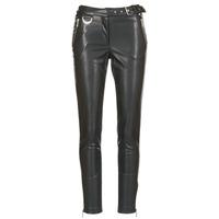 textil Mujer pantalones con 5 bolsillos Morgan PEANUT Negro