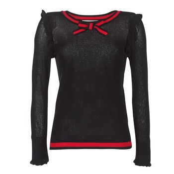 textil Mujer jerséis Morgan MIRTI Negro / Rojo