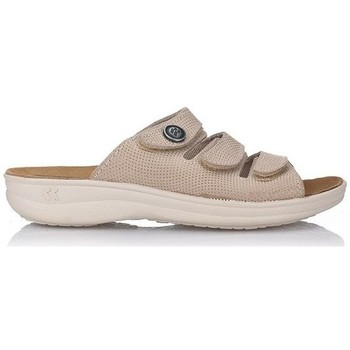 Zapatos Mujer Zuecos (Mules) Romika VILLAGE-369 TAUPE TAUPE