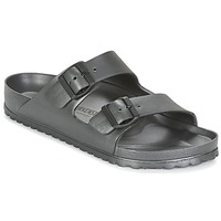 Zapatos Zuecos (Mules) Birkenstock ARIZONA Gris