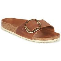 Zapatos Mujer Zuecos (Mules) Birkenstock MADRID BIG BUCKLE Marrón