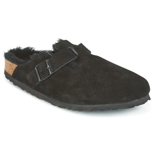 modelo más vendido de la marca Birkenstock BOSTON Negro - Envío gratis Nueva promoción - Zapatos Zuecos (Clogs) Mujer