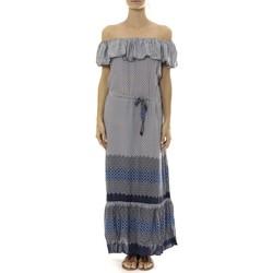 textil Mujer Vestidos largos By La Vitrine Robe Longue Care  of you Bleu Azul