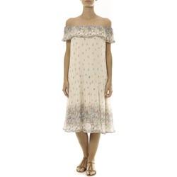 textil Mujer Vestidos cortos By La Vitrine Robe Beige Care of you Imprimée Fleurs F50134 Beige
