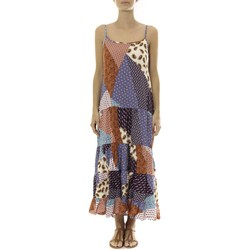 textil Mujer Vestidos largos By La Vitrine Robe Longue patchwork  Care of you Mutilcolor 1 Multicolor