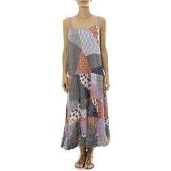 textil Mujer Vestidos largos By La Vitrine Robe Longue patchwork  Care of you Mutilcolor 2 Multicolor
