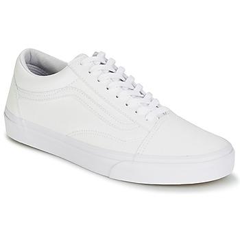 Zapatos Zapatillas bajas Vans OLD SKOOL Blanco