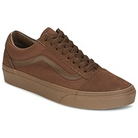 Zapatos Hombre Zapatillas bajas Vans OLD SKOOL Marrón