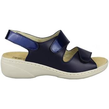 Zapatos Mujer Sandalias Comfort Class PLANTILLA EXTRAIBLE MARINO