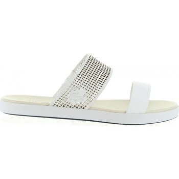 Zapatos Mujer Zuecos (Mules) Lacoste 31CAW0056 NATOY Blanco