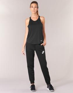 textil Mujer Pantalones de chándal Nike RALLY PANT Negro / Blanco