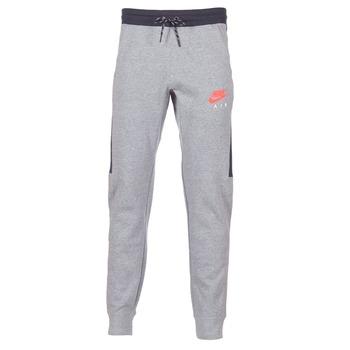 textil Hombre Pantalones de chándal Nike AIR JOGGER FLEECE Gris / Rojo
