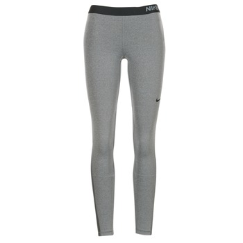 textil Mujer leggings Nike NIKE PRO TIGHT Gris / Negro