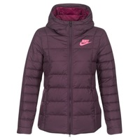 textil Mujer plumas Nike DOWN FILL JKT Burdeo / Rosa