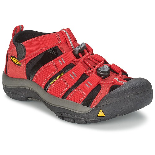 Zapatos Niños Sandalias de deporte Keen KIDS NEWPORT H2 Rojo / Gris