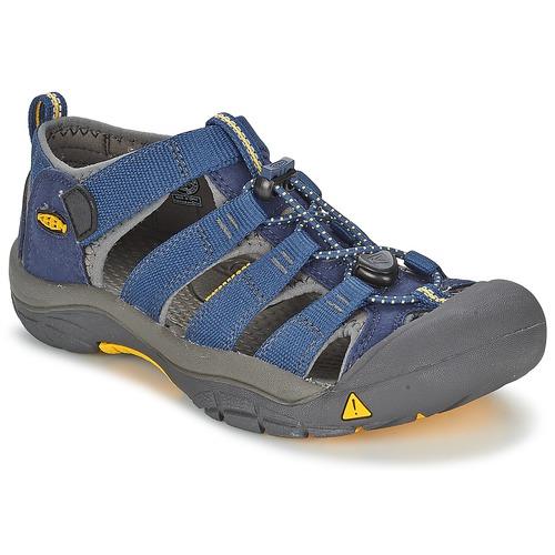 Zapatos Niños Sandalias de deporte Keen KIDS NEWPORT H2 Azul / Gris