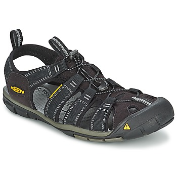 Zapatos Hombre Sandalias de deporte Keen MEN CLEARWATER CNX Negro / Gris
